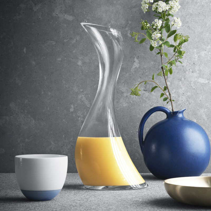 丹麥 Georg Jensen COBRA 玻璃水瓶