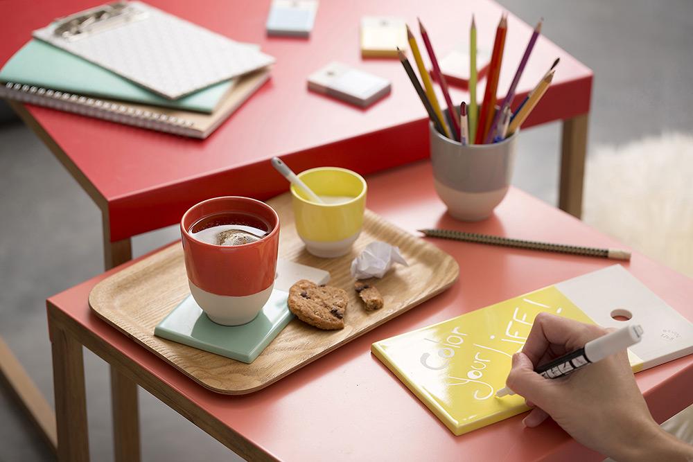 法國 Revol Color Lab 雙色杯-紅