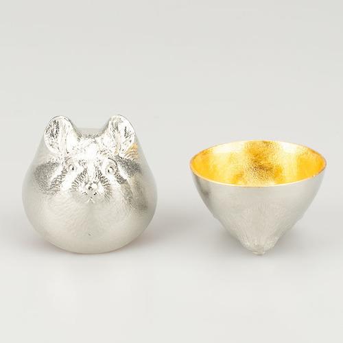 日本能作 金箔生肖造型杯 - 鼠