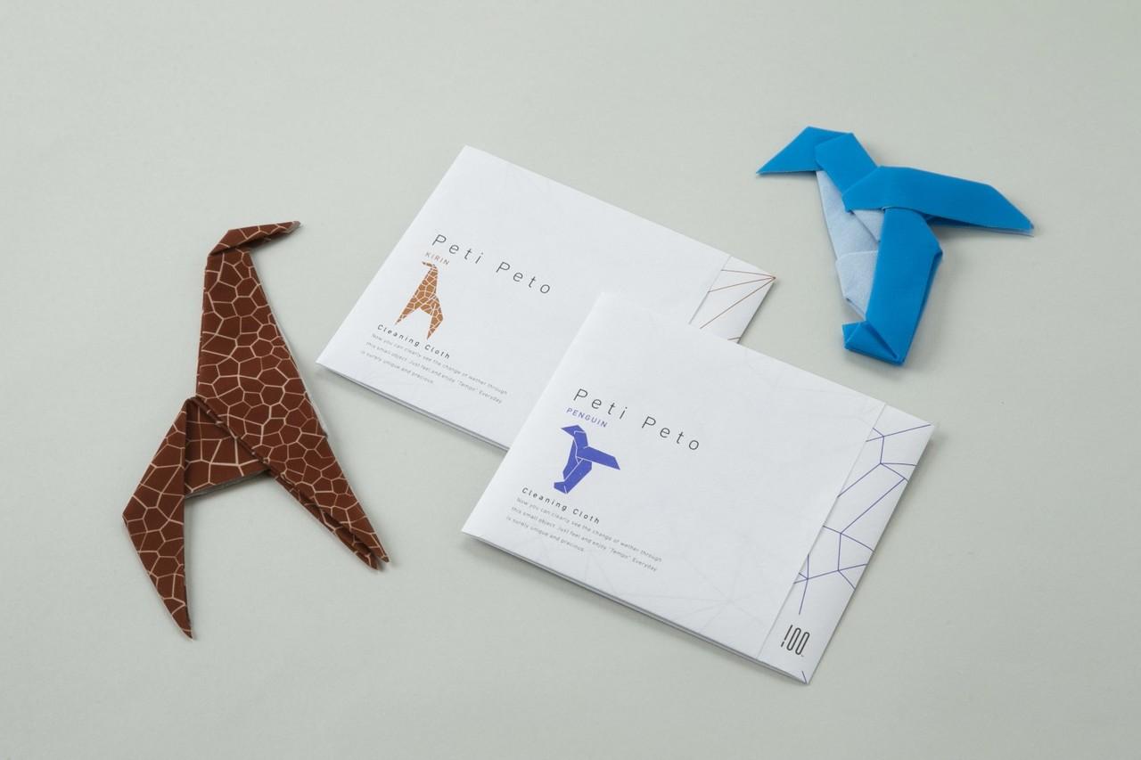 日本 Perrocaliente Peti Peto 魔術拍拍拭布 單入  長頸鹿