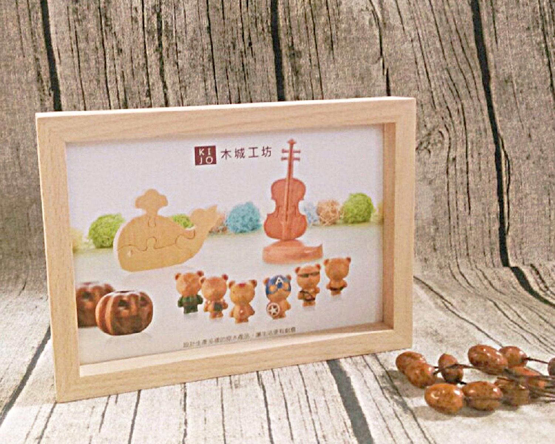 木城工坊 原木木作相框