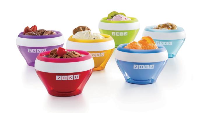 美國 ZOKU 快速製冰淇淋機-紅色
