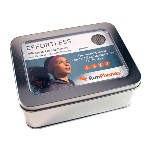 美國 RunPhones 無線充電藍牙睡眠耳機-黑色