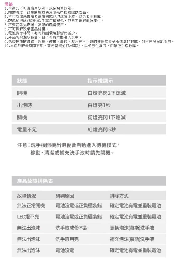 【2/18~3/18開學季95折優惠】【防疫大作戰】InfoThink 迪士尼奇奇蒂蒂感應式泡泡洗手機(給皂機)