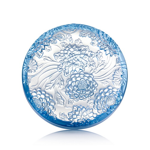 LIULI-LIVING(琉璃工房生活系列) 花月藏(藍)