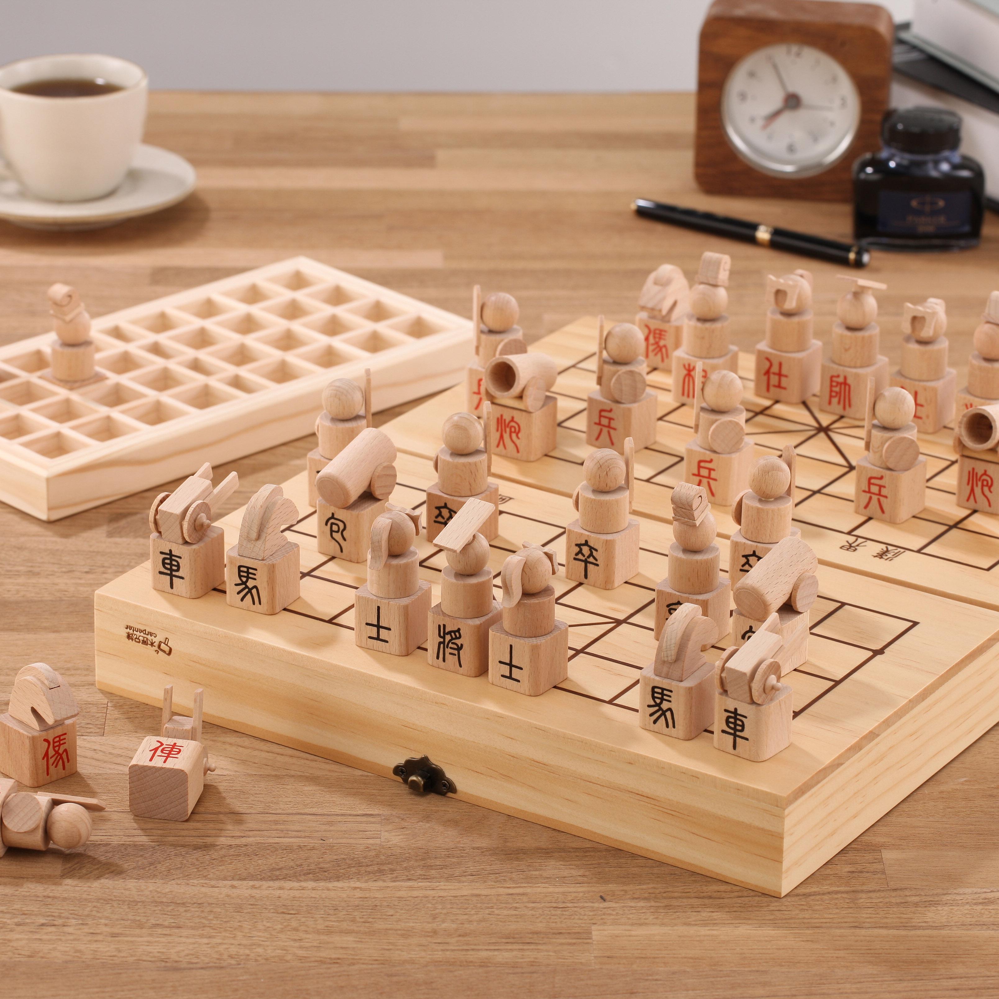 顛覆市面上象棋的形式,改採立體意象化的設計