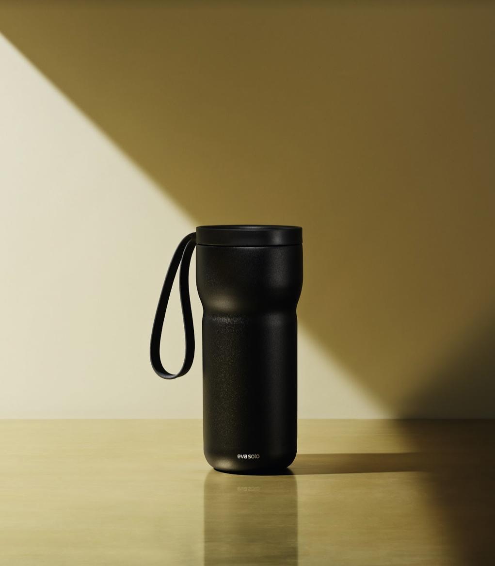 丹麥 eva solo 隨型保溫茶杯 -黑色 (含濾網) 350ml