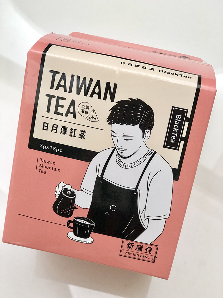 新瑞登 日月潭紅茶立體茶包