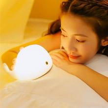 創意設計小物館<br />鯨魚療癒小夜燈