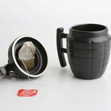 天晴設計 手榴彈馬克杯 黑