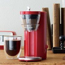 日本 recolte Solo Kaffe 單杯咖啡機 熱情紅