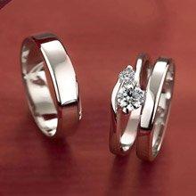【可刻字】 IR 溫柔呢喃 素面 純銀戒指/男款