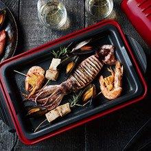 日本 recolte Home BBQ 電烤盤 貴族紅