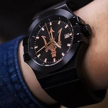 <span class=cutoff>【全球限量】瑪莎拉蒂 POTENZA 三針錶 玫瑰金三叉 Maserati 創立...</span>