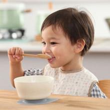 美國 Miniware 天然寶貝兒童學習餐具 新生寶寶入門組(芝麻冰淇淋+芝麻)