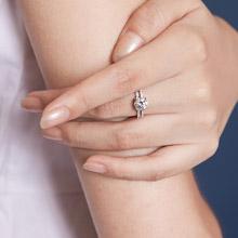 IR 幸福的承諾 純銀戒指/女款