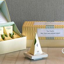 美國 Tea Forte 10入金字塔型絲質茶包 饗茶集錦