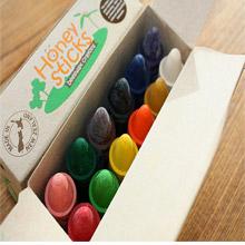 <span class=cutoff>紐西蘭Honey Sticks Crayons 純天然蜂蠟無毒蠟筆-寶寶適用(1...</span>