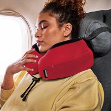 美國 CABEAU 旅行用記憶頸枕 S3(魔力紅)