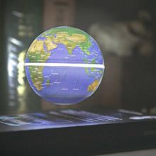 賽先生科學工廠 書本造型飄浮地球儀 (可作夜燈與展示台) 附定位環