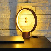 荷蘭 allocacoc Heng衡 LED燈/櫸木(淺色圓形)