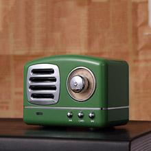 創意設計小物館 迷你復古小音箱 墨綠色