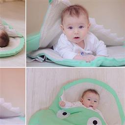 <span class=cutoff>Baby Bites 西班牙手工製作100%純棉嬰幼兒睡袋 / 防踢被 / 包巾...</span>