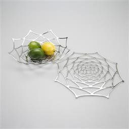 日本 能作 純錫魔術置物籃 (大理花L)
