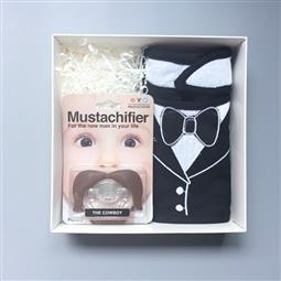 <span class=cutoff>Frenchie MC & Mustachifier 時髦不羈小牛仔男寶寶禮盒 ...</span>