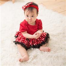 <span class=cutoff>日安朵朵 女嬰精緻雪紡蓬蓬裙連身衣 我是米妮 Im Minnie (短袖款) ...</span>