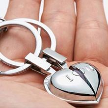 創意設計小物館 戀愛溫心 音樂鑰匙扣