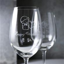MSA【手工雕刻】小倆口紅酒對杯