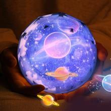 創意設計小物館 浪漫星空LED旋轉投影燈 宇宙款