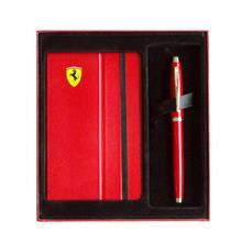 SHEAFFER Ferrari 法拉利 100 鋼珠筆+記事本禮盒組
