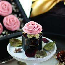 Felicitas Pâtissérie 玫瑰花束禮盒 粉紅花禮