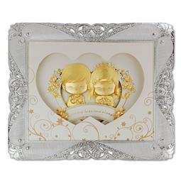 <span class=cutoff>凱馨 世紀婚禮 Yes, I do.黃金箔 王子與公主的幸福起點 (珍珠框大) ...</span>