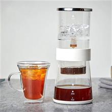 創意設計小物館 質感生活冰滴咖啡壺 白色