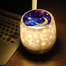 創意設計小物館 浪漫繁星旋轉投影燈 星月款燈罩