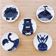 東京食器 KIHARA Kids動物豆皿組